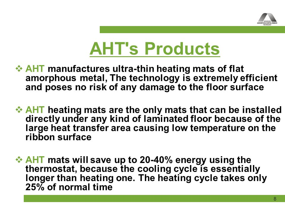 AHT s Products