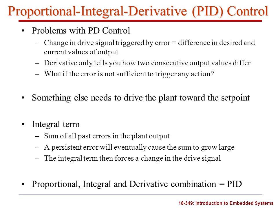Proportional-Integral-Derivative (PID) Control