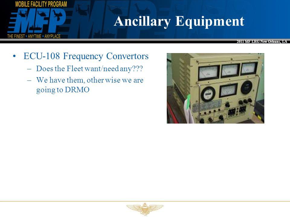 Ancillary Equipment ECU-108 Frequency Convertors