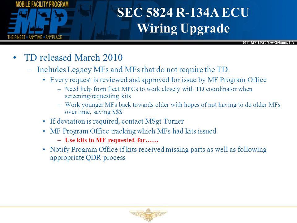 SEC 5824 R-134A ECU Wiring Upgrade