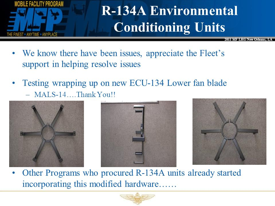 R-134A Environmental Conditioning Units