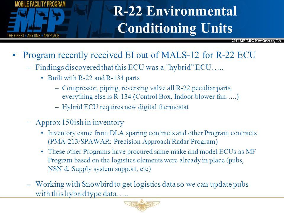 R-22 Environmental Conditioning Units
