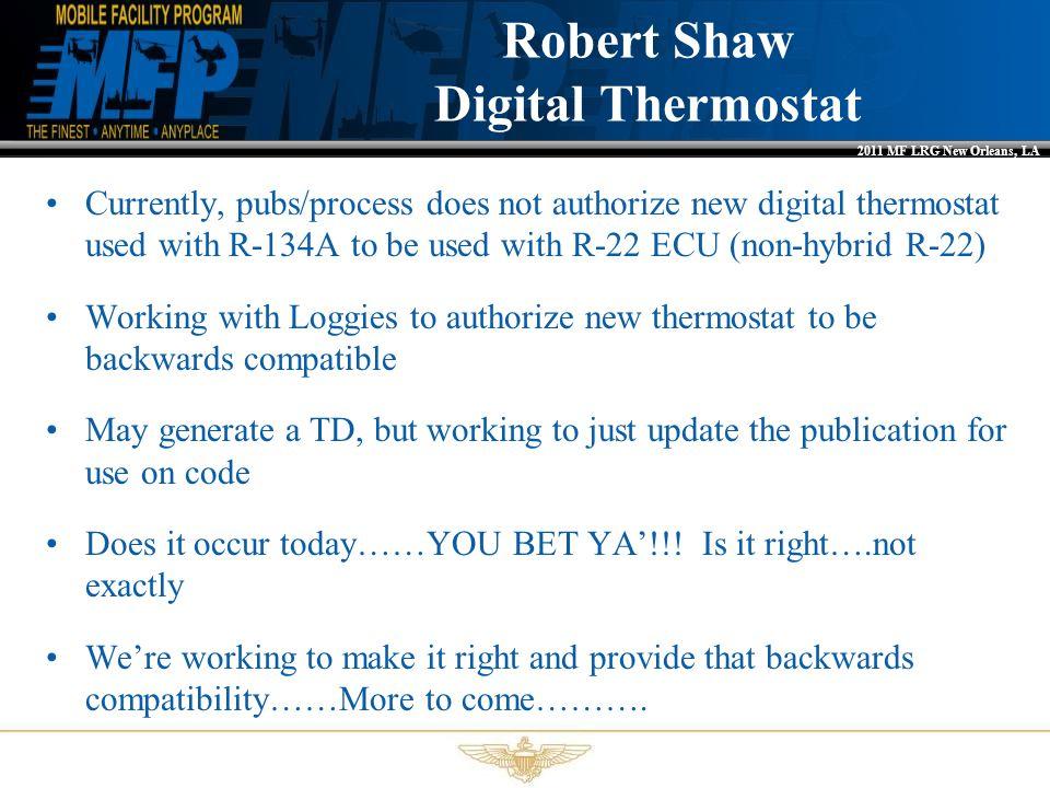 Robert Shaw Digital Thermostat