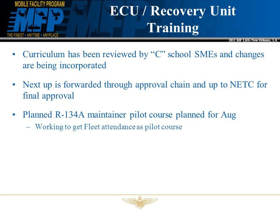 ECU / Recovery Unit Training