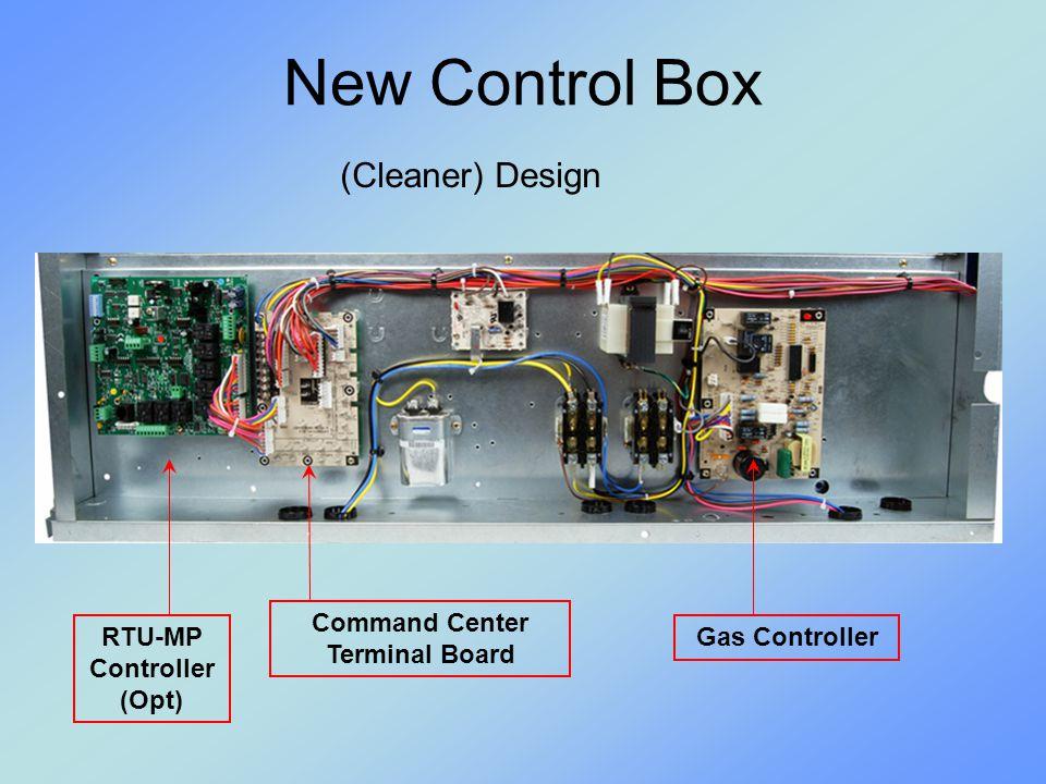 Command Center Terminal Board RTU-MP Controller (Opt)
