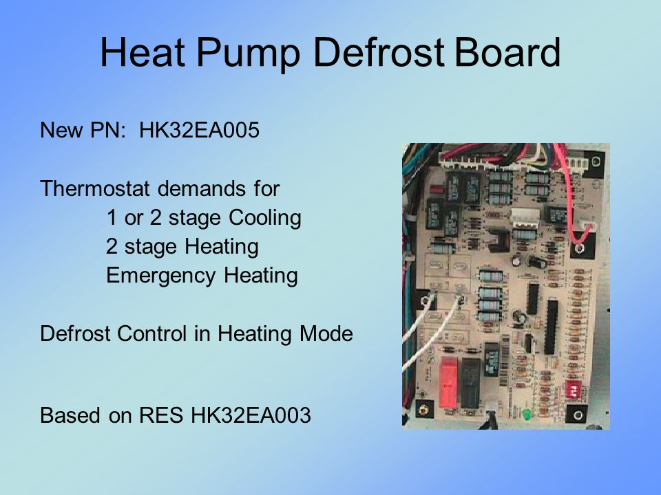 Heat Pump Defrost Board