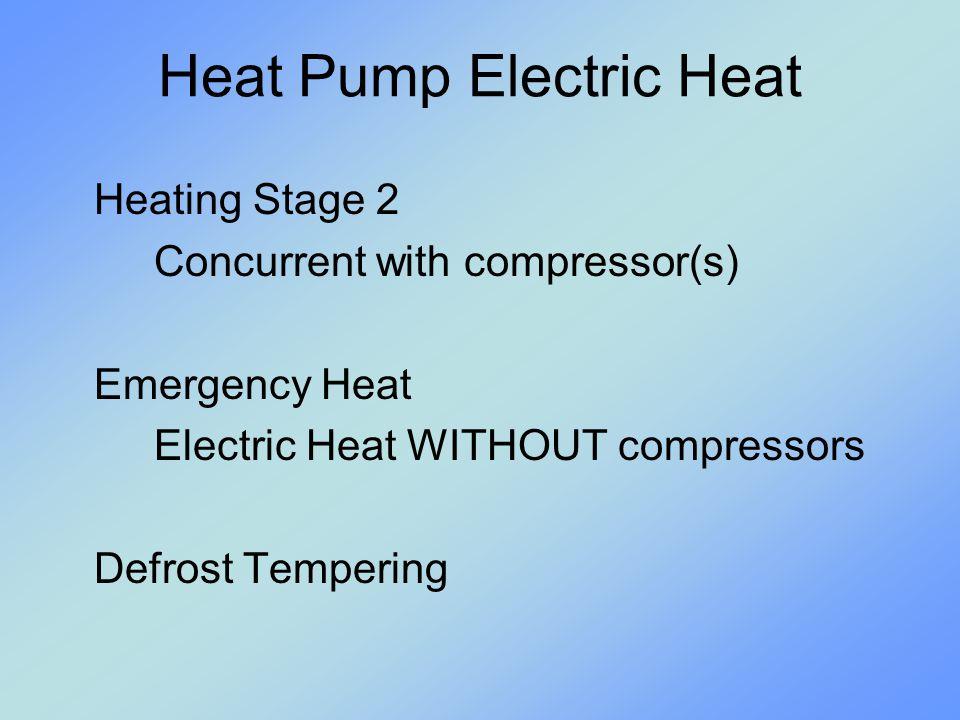 Heat Pump Electric Heat