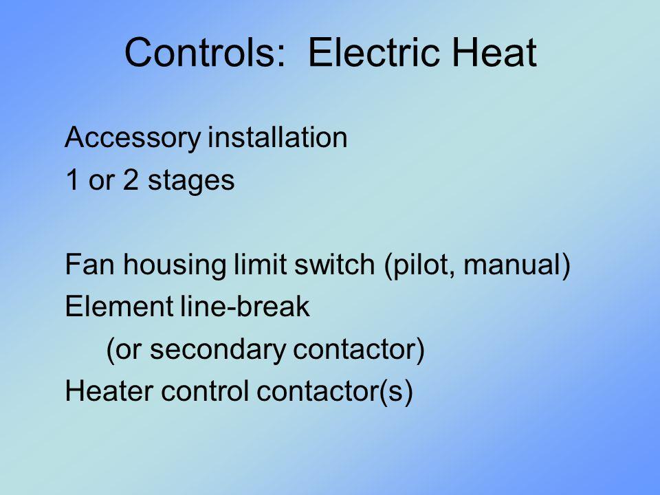 Controls: Electric Heat