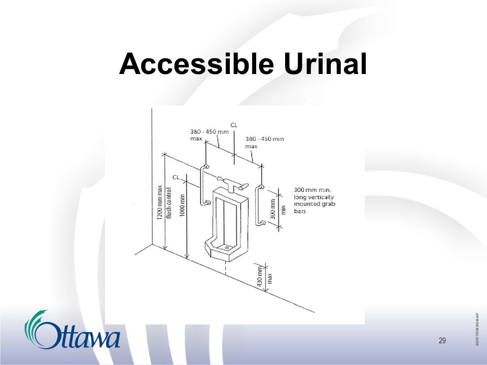 Accessible Urinal