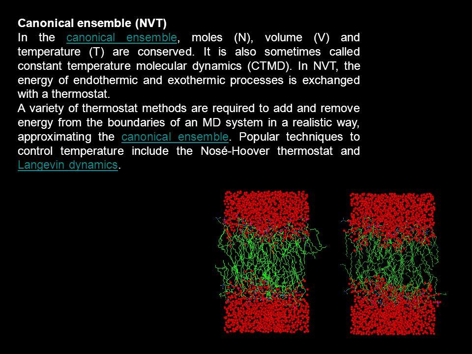 Canonical ensemble (NVT)