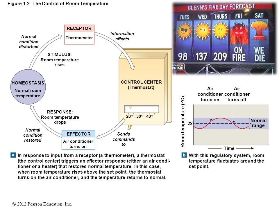Figure 1-2 The Control of Room Temperature