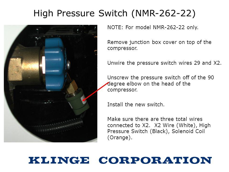 High Pressure Switch (NMR-262-22)