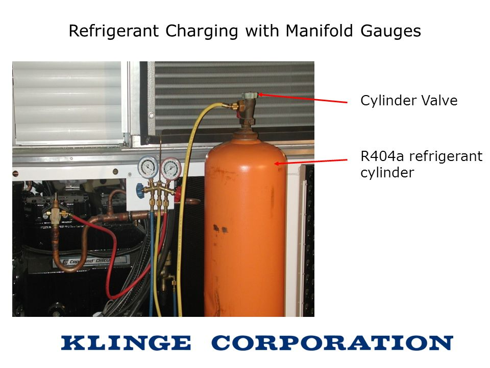 Refrigerant Charging with Manifold Gauges