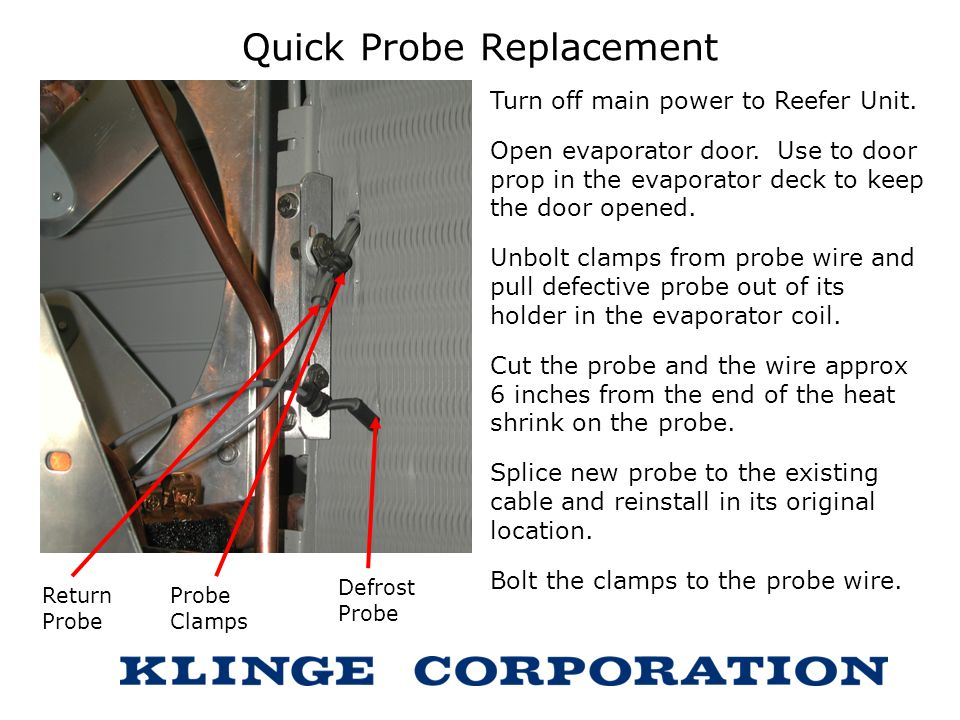 Quick Probe Replacement