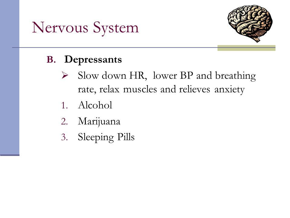 Nervous System Depressants