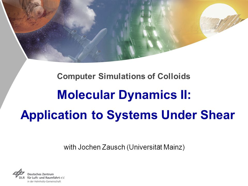 Computer Simulations of Colloids Molecular Dynamics II: Application to Systems Under Shear