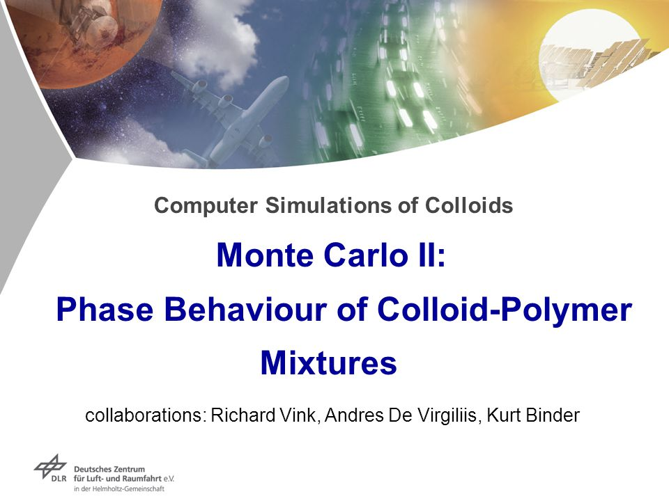 Computer Simulations of Colloids Monte Carlo II: Phase Behaviour of Colloid-Polymer Mixtures