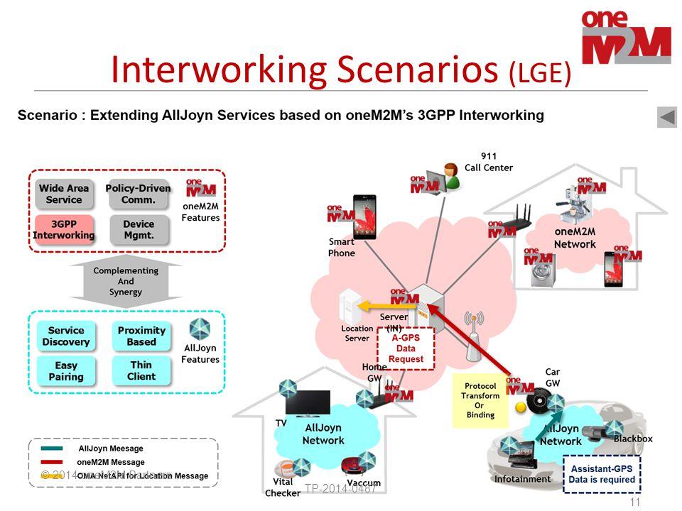 Interworking Scenarios (LGE)