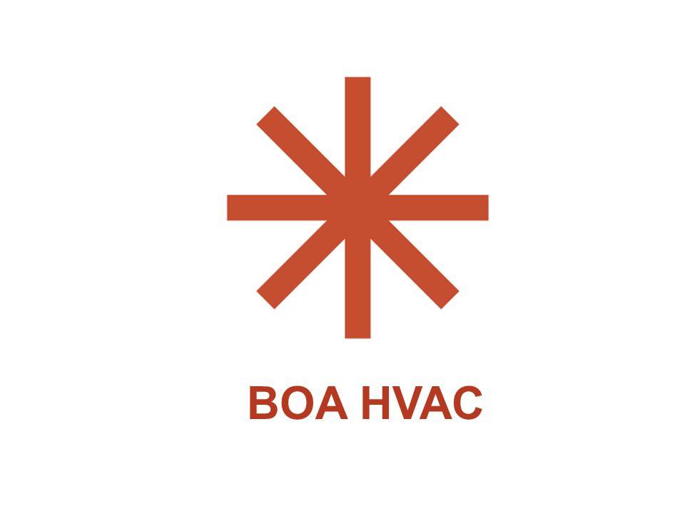 BOA HVAC Organizational details: