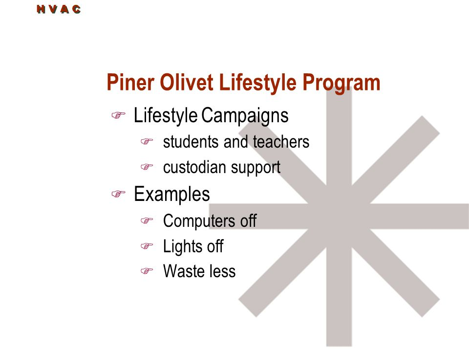 Piner Olivet Lifestyle Program