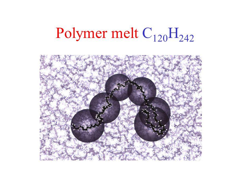 Polymer melt C120H242