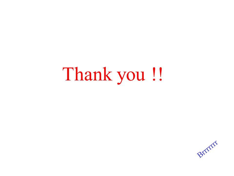 Thank you !! Brrrrrrr