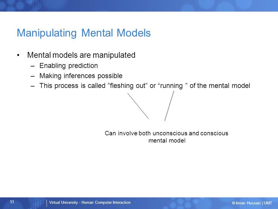 Manipulating Mental Models