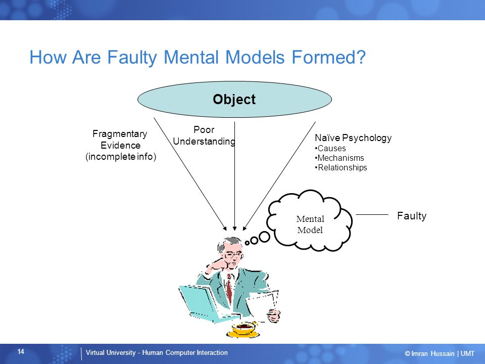How Are Faulty Mental Models Formed