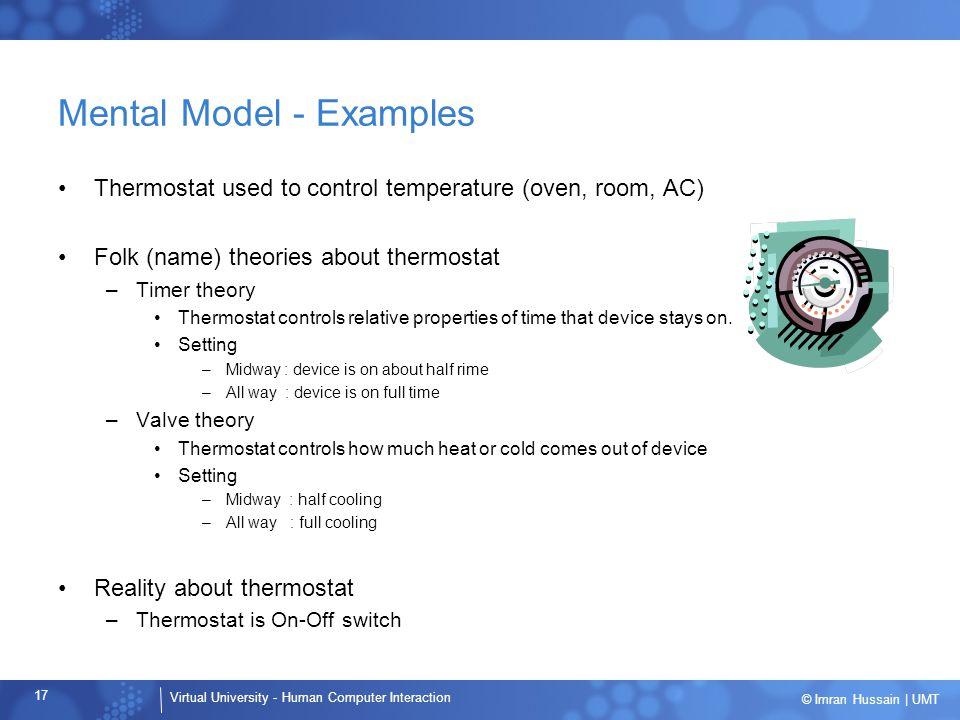 Mental Model - Examples