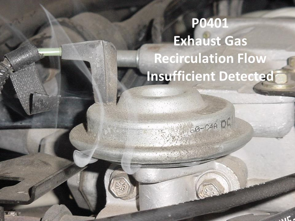 Exhaust Gas Recirculation Flow Insufficient Detected