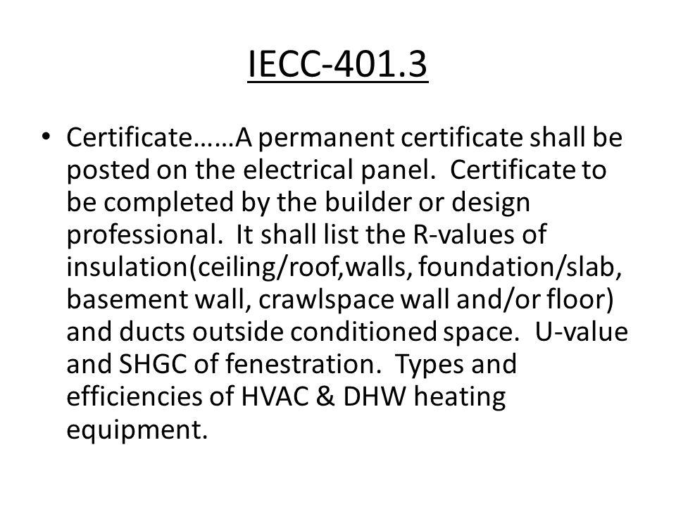 IECC-401.3