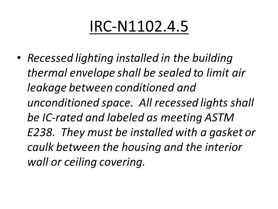 IRC-N1102.4.5