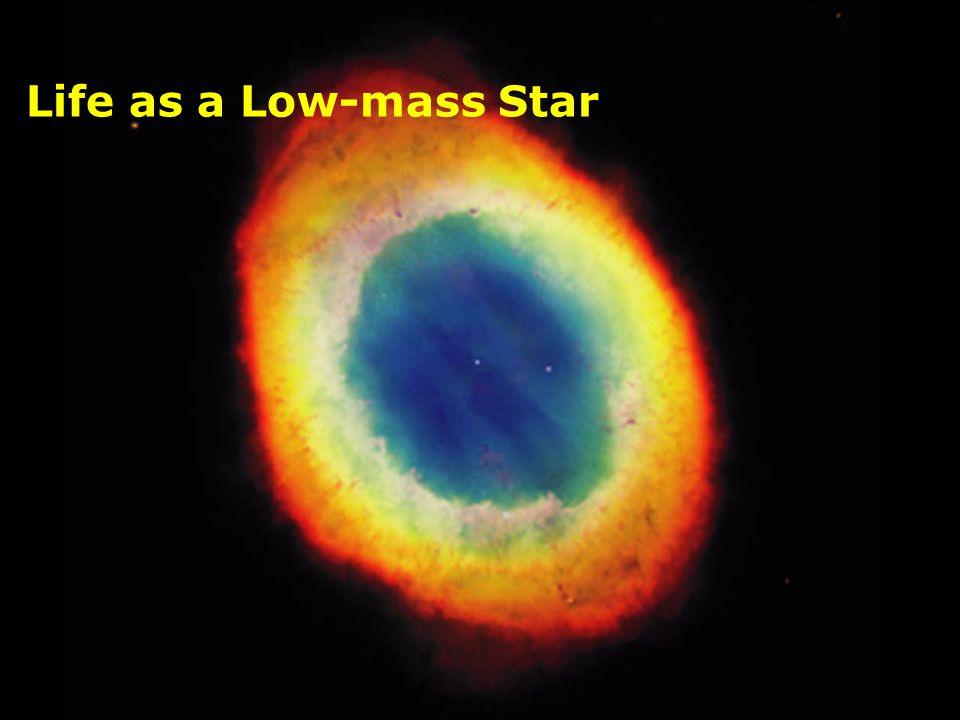 Life as a Low-mass Star Image: Eagle Nebula in 3 wavebands (Kitt Peak 0.9 m).