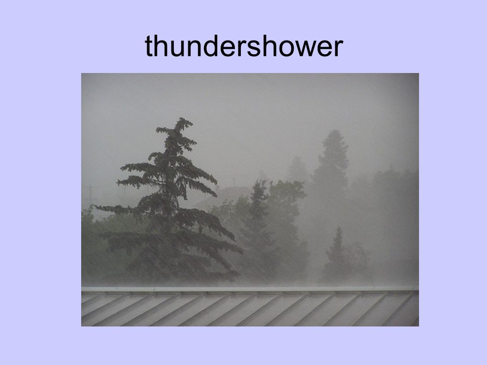 thundershower