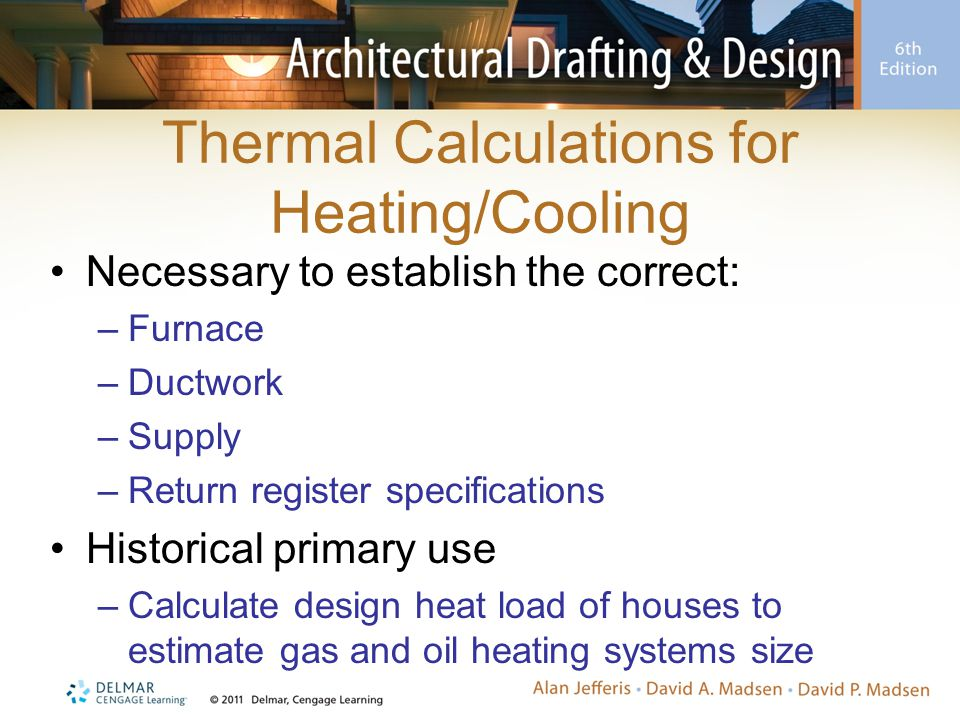 Thermal Calculations for Heating/Cooling