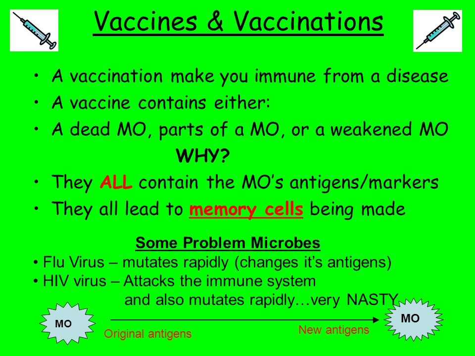 Vaccines & Vaccinations