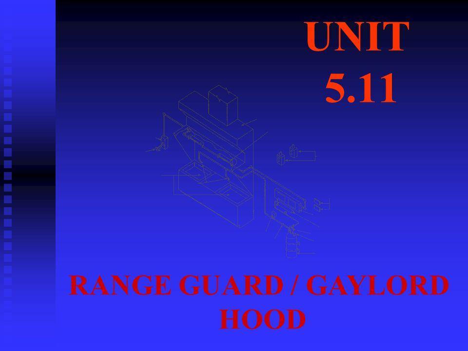 UNIT 5.11 RANGE GUARD / GAYLORD HOOD