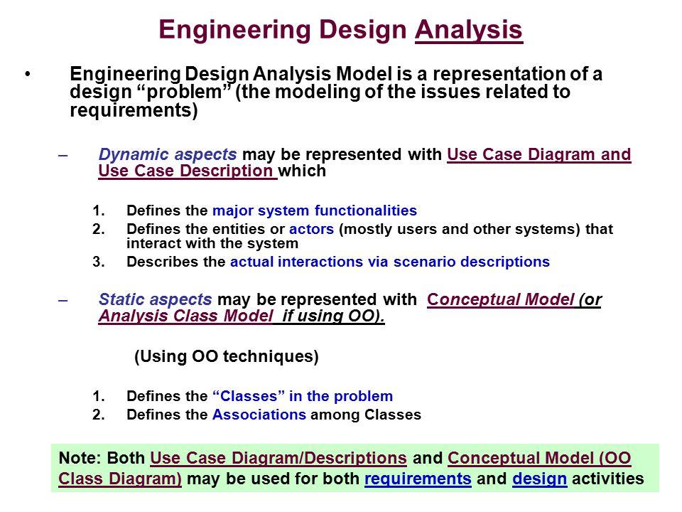 Engineering Design Analysis