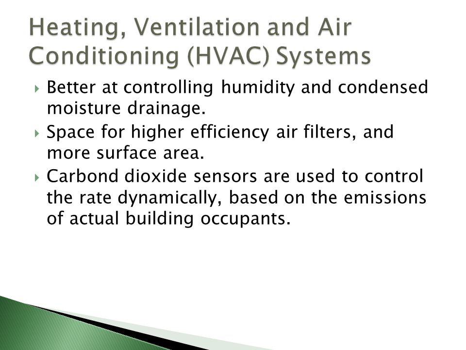 Heating, Ventilation and Air Conditioning (HVAC) Systems