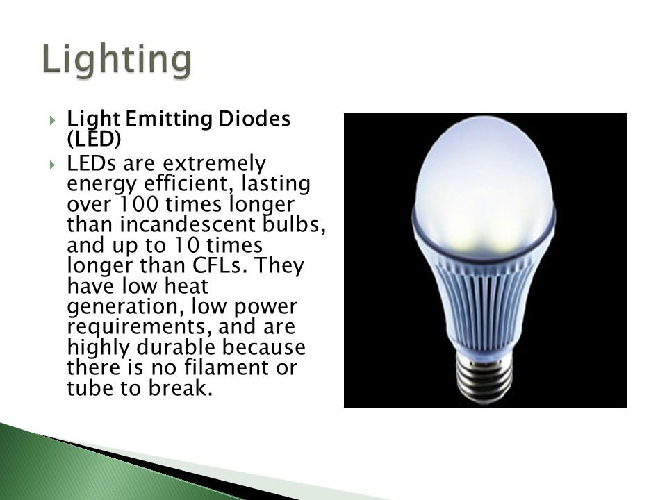 Lighting Light Emitting Diodes (LED)