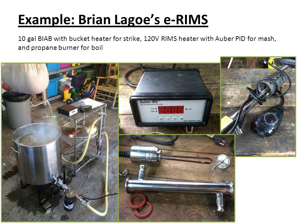 Example: Brian Lagoe's e-RIMS