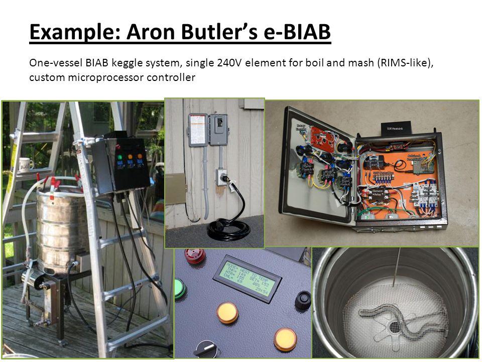 Example: Aron Butler's e-BIAB