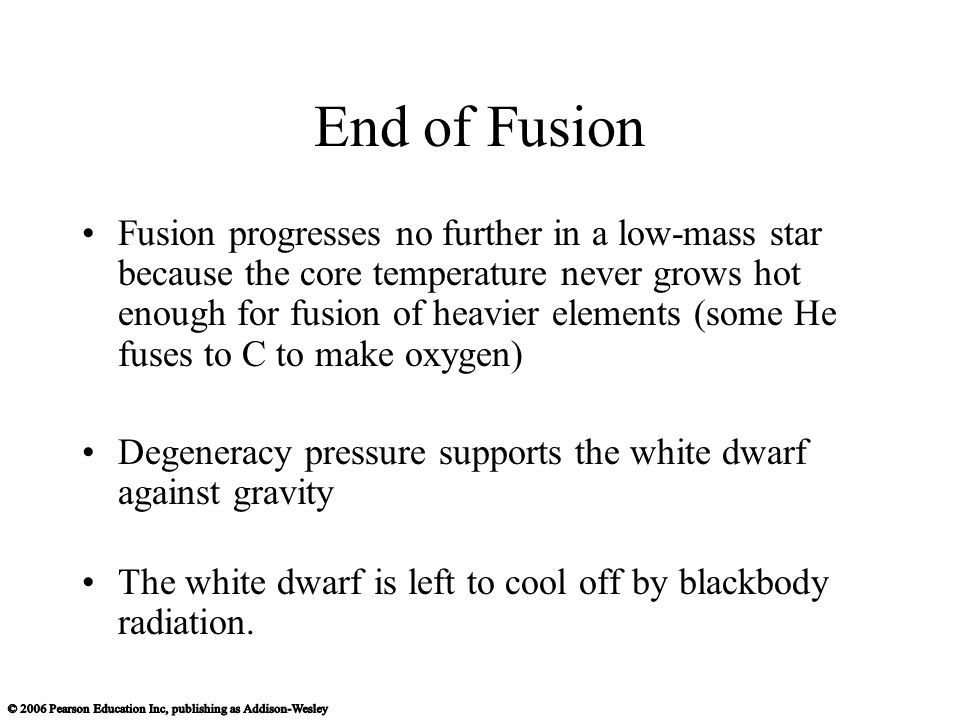 End of Fusion
