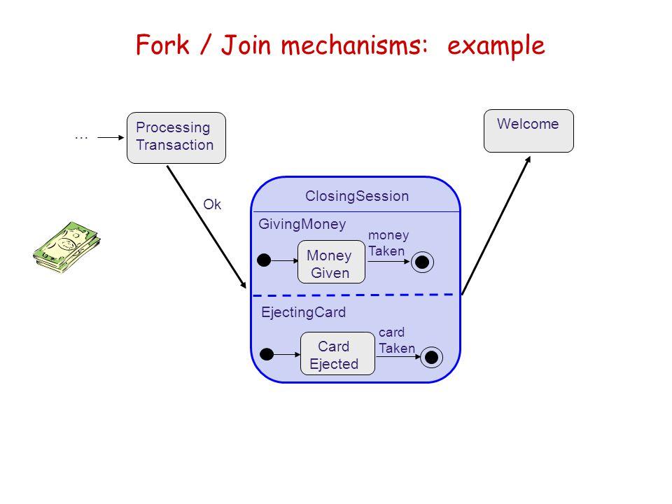 Fork / Join mechanisms: example