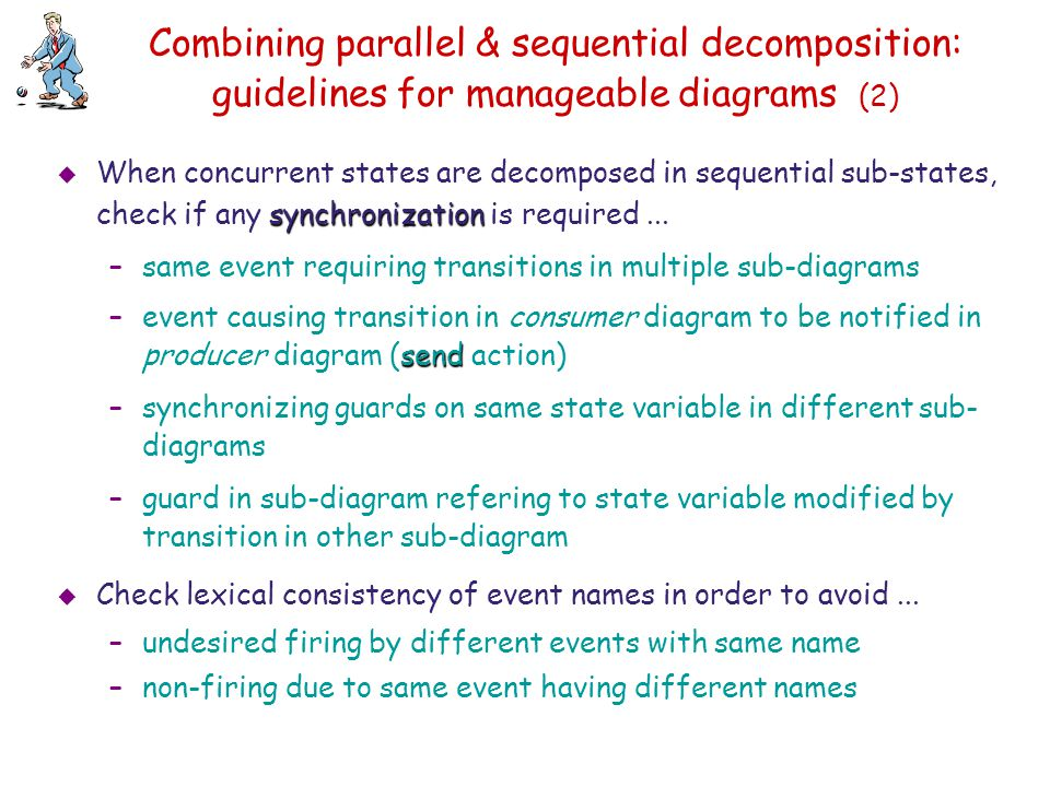 Combining parallel & sequential decomposition: guidelines for manageable diagrams (2)