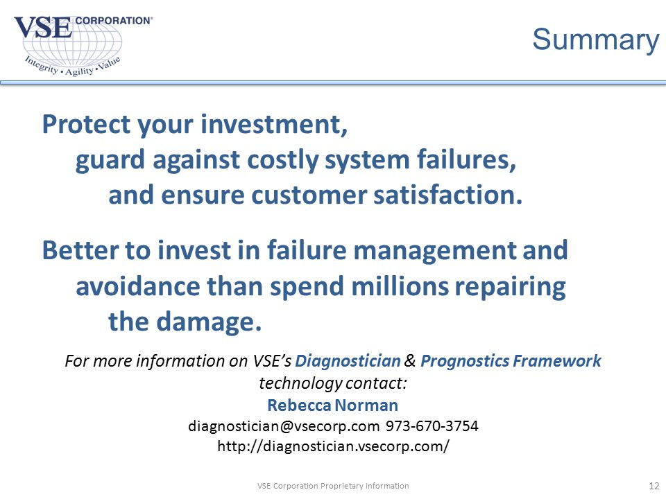 Protect your investment,