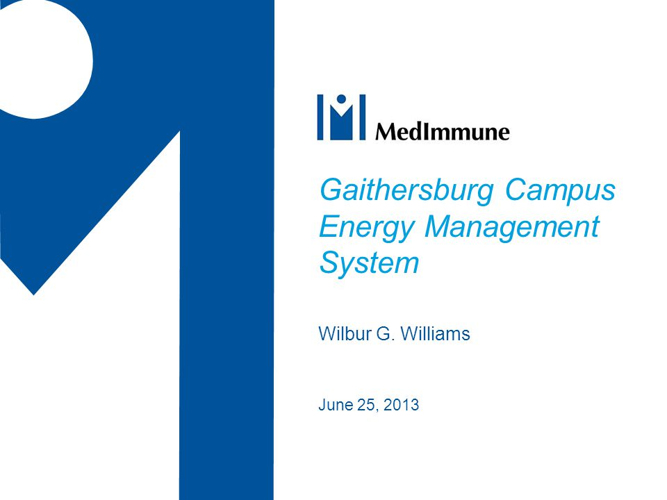 Gaithersburg Campus Energy Management System