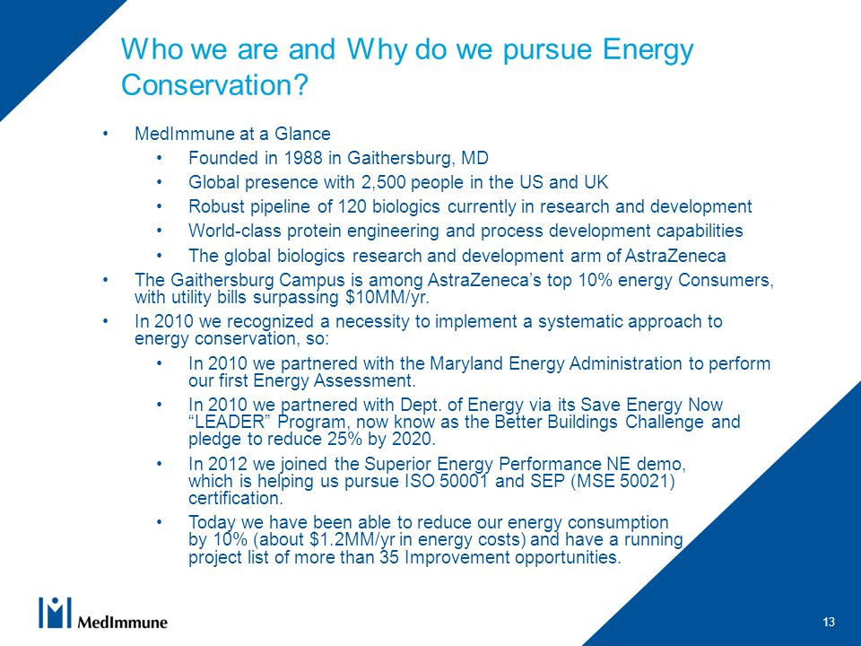 Who we are and Why do we pursue Energy Conservation