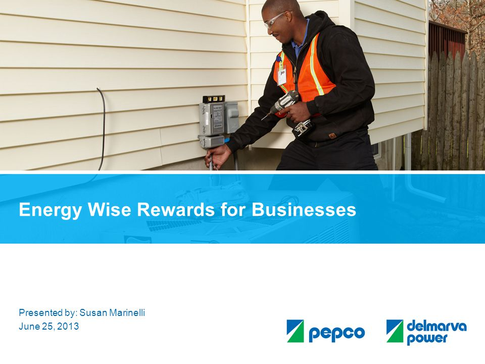 Energy Wise Rewards for Businesses