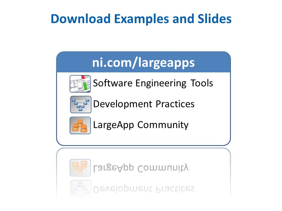 Download Examples and Slides